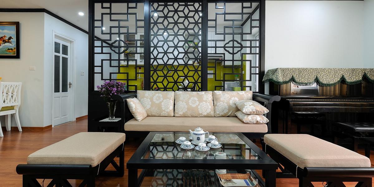 Thiết kế nội thất phong cách Indochine mang lại nét thanh bình, giản dị.