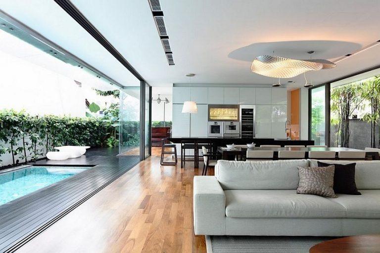 Đảm bảo bố trí nội thất gọn gàng, vệ sinh sạch sẽ cho không gian nhà ở